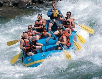 river rafting and camping packages in Rishikesh